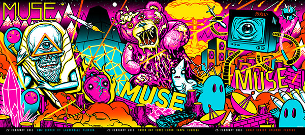 MUSE Vip Prints by MUNK ONE ARE SOLD OUT