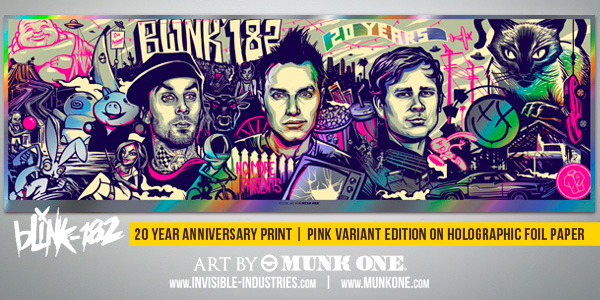 MUNK ONE BLINK 182 PRINT